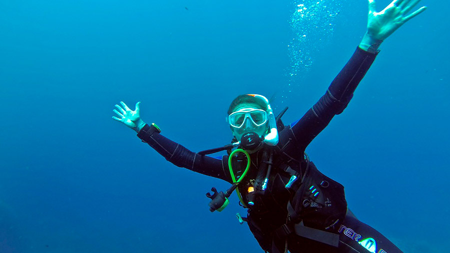 Actividades acuáticas en Blanes Submarinismo